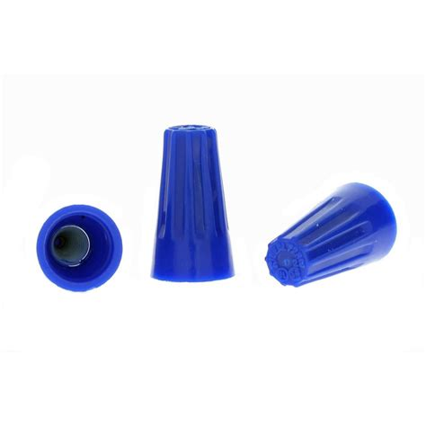 ideal 72 blue wire nut wire connectors 100 per bag