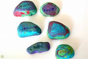DIY Gift: Painted Rocks for Father's Day - Monthly Science ...