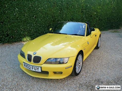 2002 Sports/convertible Z3 For Sale In United Kingdom