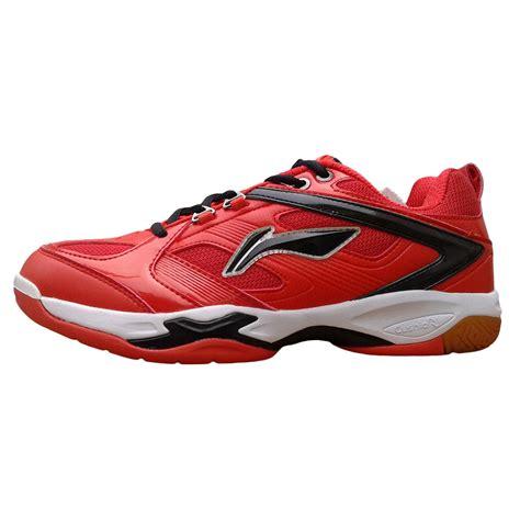 li ning champion red badminton shoes buy li ning