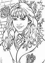 Potter Harry Coloring Pages Colouring Hermione Printable Adult Ron Sheets Chamber Secrets Printables Visit Fun Books Colors Cartoon sketch template