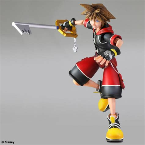 Kingdom Hearts 3d Sora And Riku Play Arts Kai Revealed