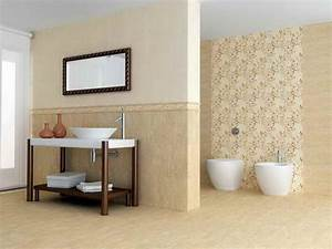 How to choose bathroom walls theme design sn desigz for How to decorate a bathroom wall