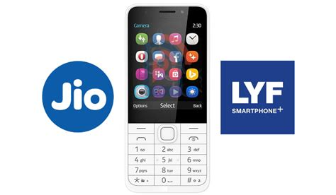 reliances lyf brand  launch feature phones   volte  support jio  phoneradar