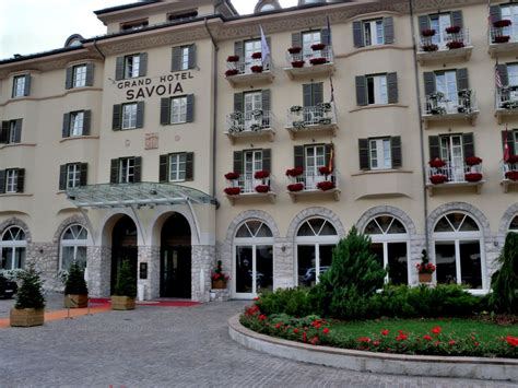 Grand Hotel Savoia - Cortina d' Ampezzo set in the centre ...