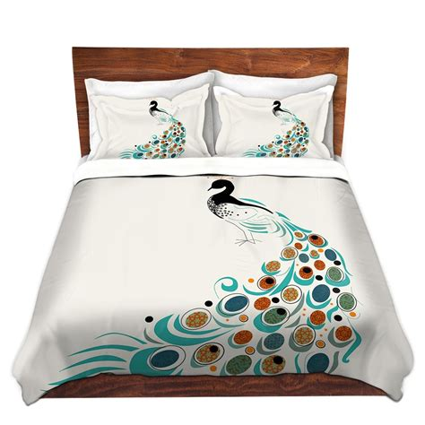 Peacock Colored Bedding by Peacock Themed Peacock Colored Comforter And Bedding Sets