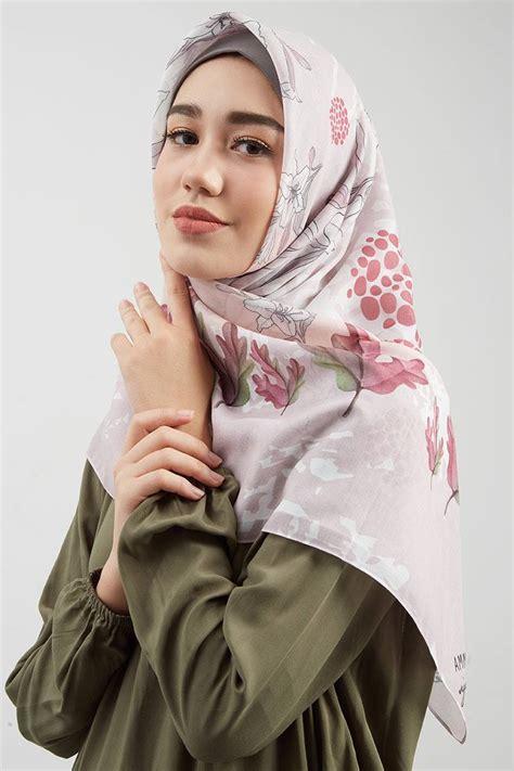 sell ammara signature arafah dusty pink square hijab