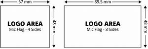 Mic flags rycote for Mic flag template