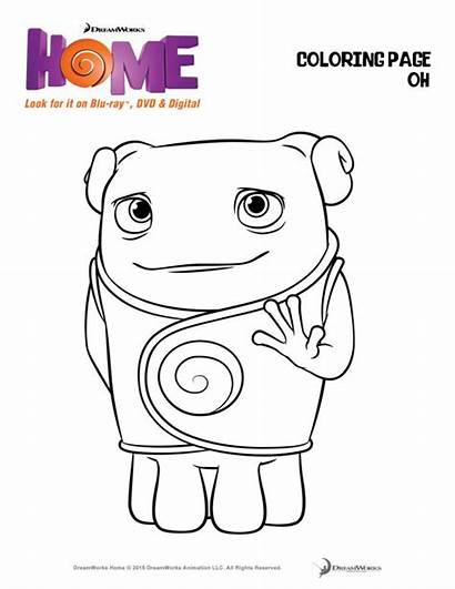 Coloring Pages Dreamworks Drawing Must Sheets Activity