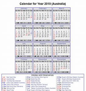 public holidays in australia 2019