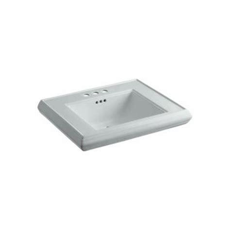 glacier bay petite aragon 8 3 8 in pedestal sink basin in