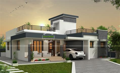Contemporary Single Storey Box Type Home Amazing