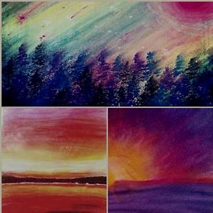 oil pastel nature | Teaching Art | Pinterest