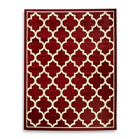 red rug bed bath and beyond red furniture and decor