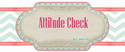 Attitude Check Pages