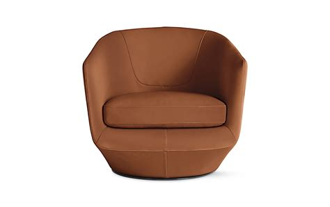 u turn swivel chair design within reach