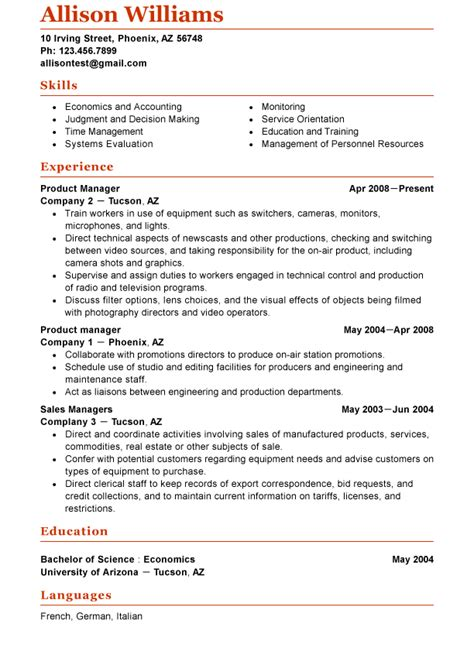 whats    functional resume template market