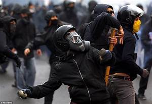 Riot police clash with May Day protesters around the world ...