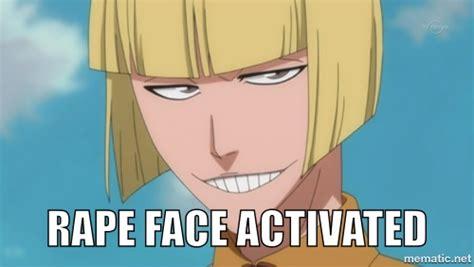 Anime Rape Memes - rape face meme by gollum123 on deviantart