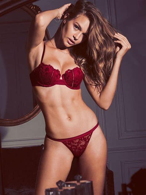 Josephine Skriver Sizzles in Hot Victoria's Secret ...