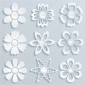 17 paper flower templates pdf doc psd vector eps for Paper cut out templates flowers