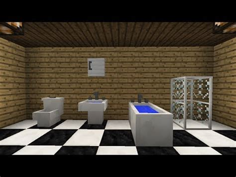 minecraft bathroom furniture ideas mrcrayfish s furniture mod update 20 bath and wall