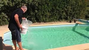eau de piscine verte produit miracle youtube With comment faire revenir une piscine verte