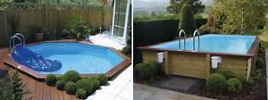 prix d une piscine hors sol 25 best ideas about parquet With terrasse piscine semi enterree 0 installation dune piscine hors sol gre youtube