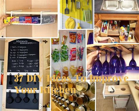 diy kitchen decor ideas 37 diy hacks and ideas to improve your kitchen amazing