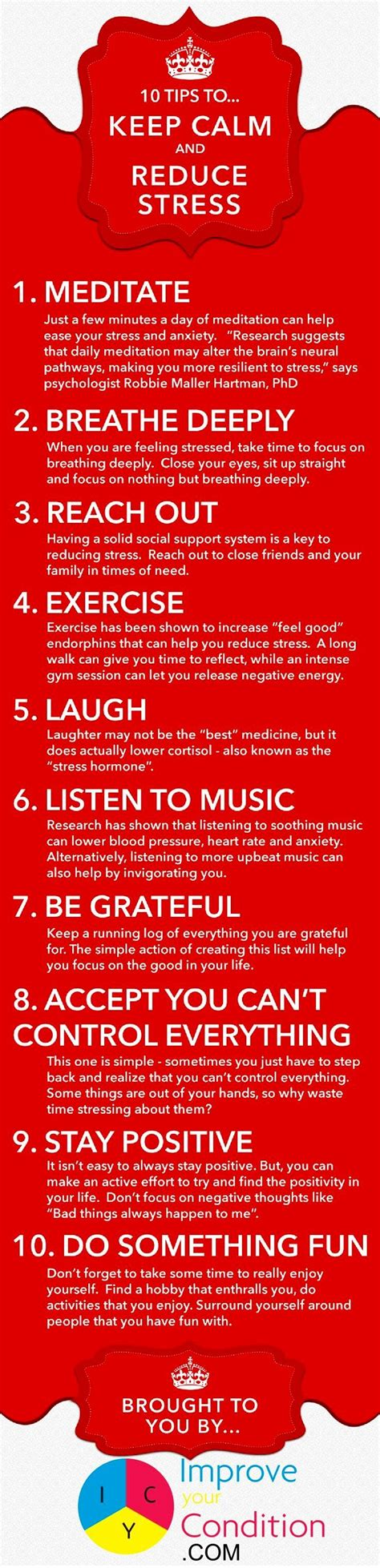 10 Tips To Keep Calm & Reduce Stress 1  Meditate Just A Few Minutes A Day Quotesstory