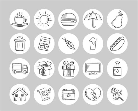 Download over 1 icons of instagram highlight stories in svg, psd, png, eps format or as webfonts. Instagram Story Highlights Icons Set of 50 Instagram Icons | Etsy | Набор значков, Дизайн иконки ...