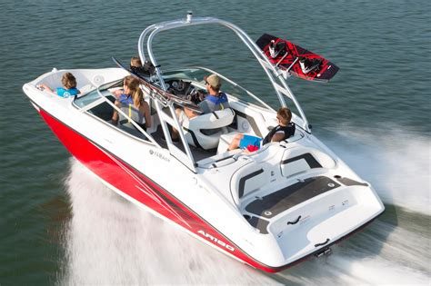 Wakeboard Boats For Sale Nh by 2016 New Yamaha Ar190 Ski And Wakeboard Boat For Sale