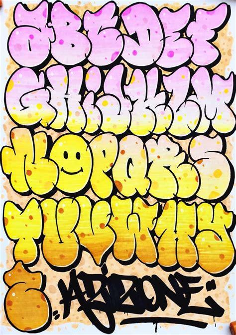 alphabet throw   aizoner graffiti lettering alphabet