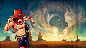 One Piece (anime) Portgas D Ace Yoshairo wallpaper ...