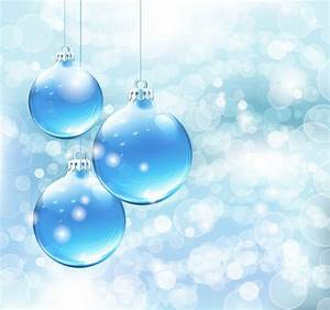 Blue Christmas Card Background Vector Graphic | Free ...