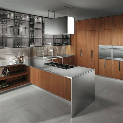 Home Decoration Inspiration Modern Wood Kitchen Ideas In