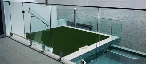diy horizontal fence frameless glass balustrade supplier absolute glass
