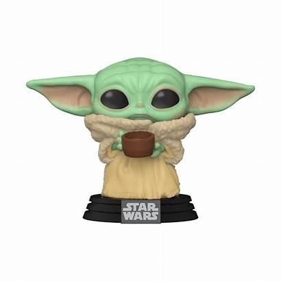 Yoda Pop Wars Star Cup Mandalorian Child