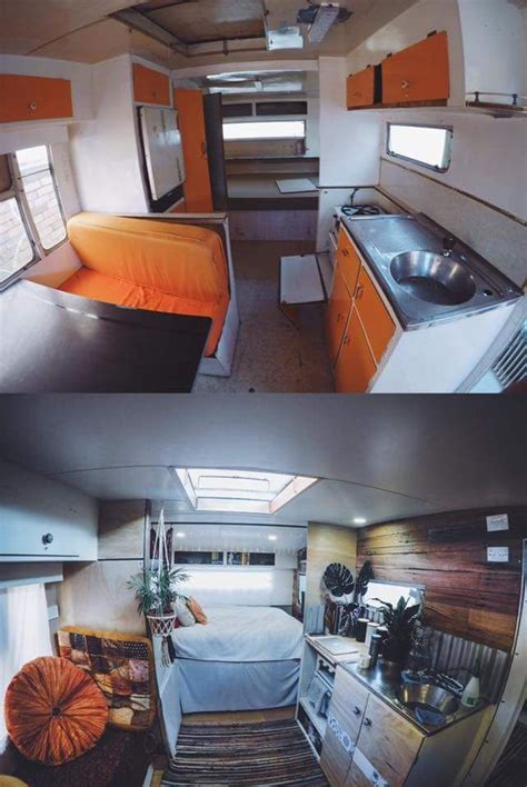 Diy Caravan Upholstery by The 25 Best Caravan Renovation Ideas On