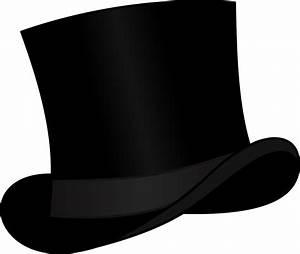 Clipart - Top hat black