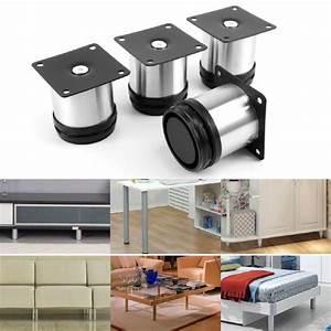 Pied De Meuble Reglable : pied de meuble reglable achat vente pied de meuble ~ Dailycaller-alerts.com Idées de Décoration