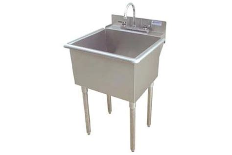 stainless steel freestanding laundry sink stainless steel freestanding utility sink sinks ideas
