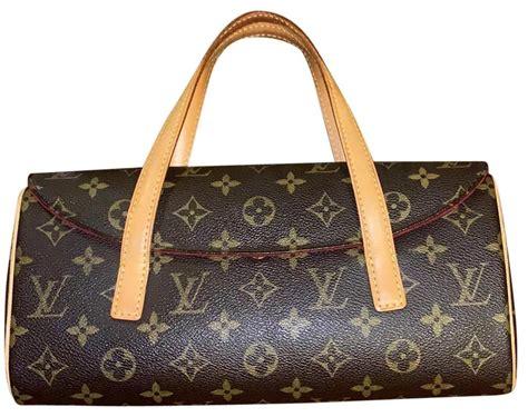 louis vuitton sonatine lv monogram leather baguette tradesy