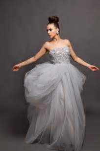 gray wedding dresses wedding gown grey wedding dress alva beaded by pantorabridal wedding planning