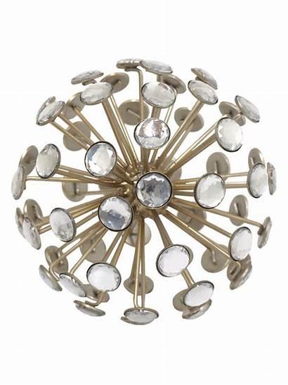 Jeweled Gilt Orb Decor