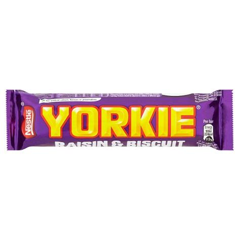 nestle yorkie raisin  biscuit
