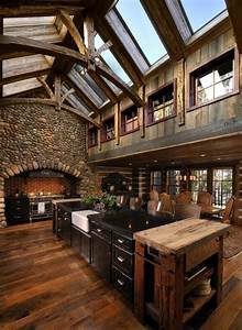 40, Rustic, Kitchen, Designs, To, Bring, Country, Life