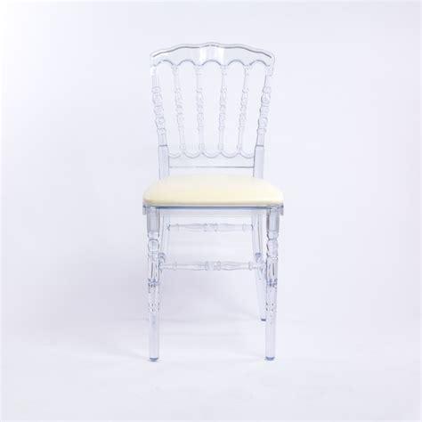 location chaise napoleon location chaise transparente pour congrès et banquet