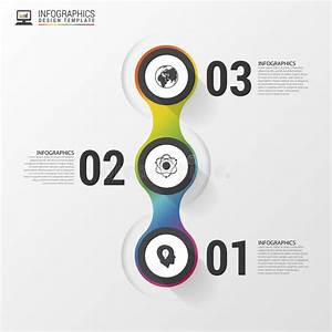 Circle Objects  Infographic Design  Template For Diagram