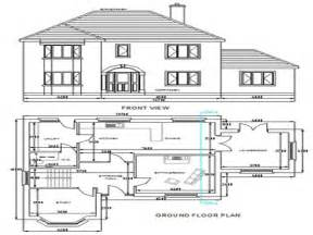 free sle floor plans free dwg house plans autocad house plans free